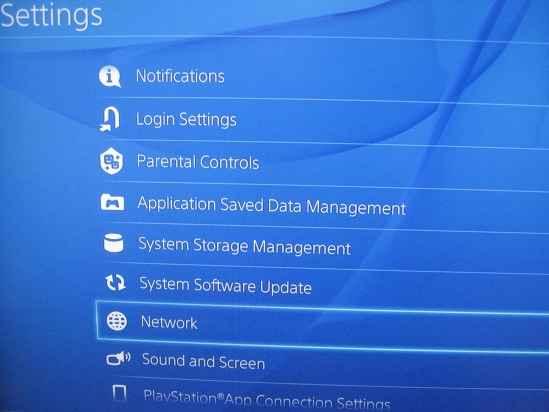 add proxy server on PS4